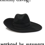Lust List: Weekend by MaxMara 'Dentice' Hat