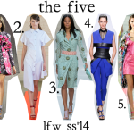 The Five: Top 5 Looks from London Fashion Week