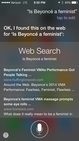 Beyonce's Feminist VMA Performance