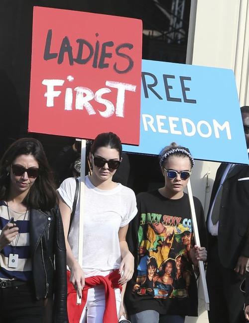 "Chanel's ""Feminist"" Protest"