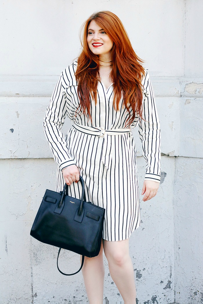 Striped Shirtdress Summer