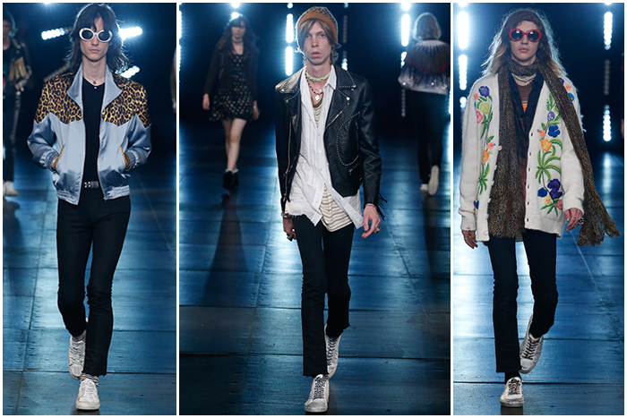 Saint Laurent SS'16 Men's Collection