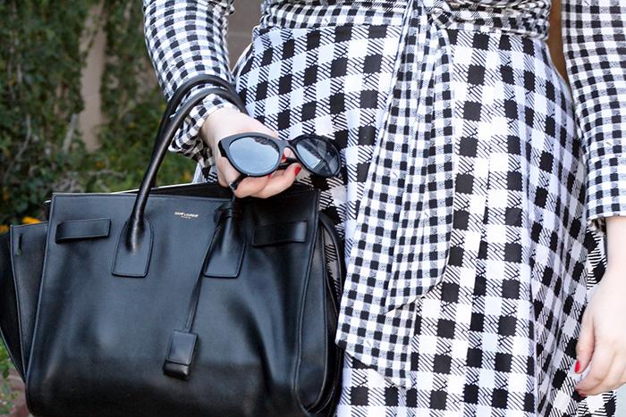 Saint Laurent Sac de Jour, Chanel Sunglasses