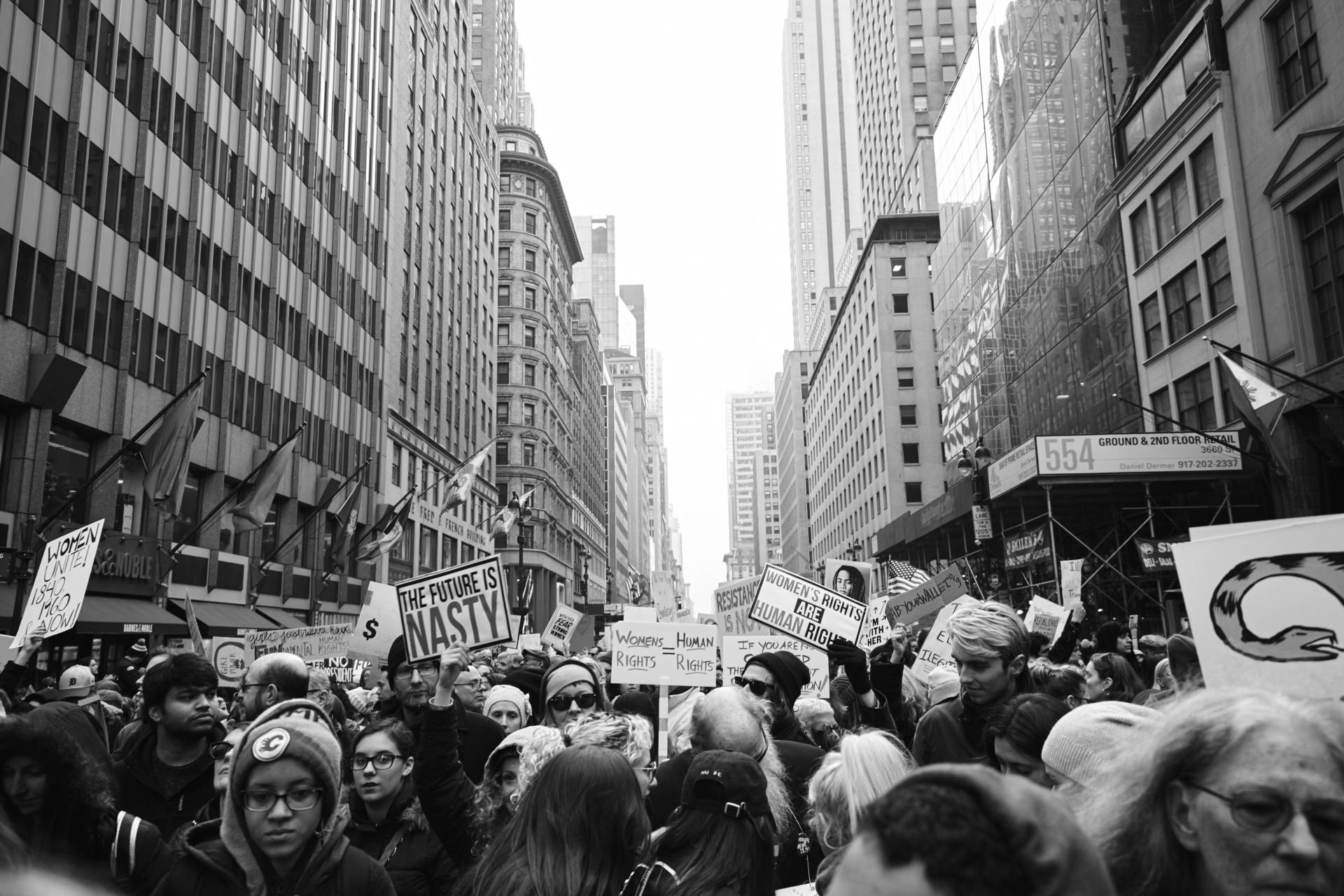 5th Avenue Women's March on NYC