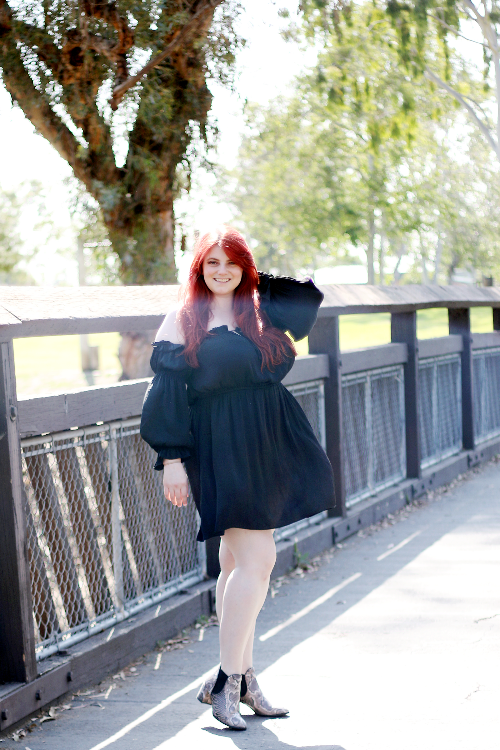 Forever 21 Plus Size Satin Ruffle Dress Black